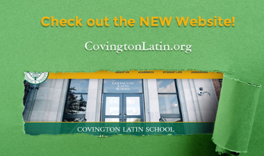 Covington Latin School's New Website